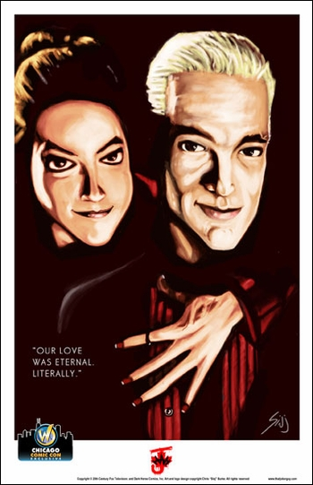 <i>Eternal Love</i> Chicago Comic Con Exclusive Lithograph by Chris �Sinj� Burke