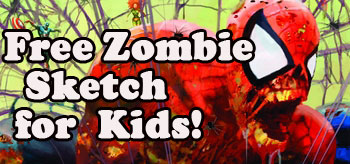 **EXCLUSIVE** Arthur Suydam, <i>Zombie King!</i>, Offering Free Sketches @ Wizard World Comic Cons!