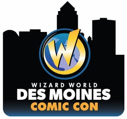 EXHIBITORS/CELEBRITY & SPECIAL GUESTS/ARTISTS & WRITERS @ DES MOINES COMIC CON