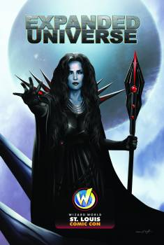 <i>Expanded Universe</i> St. Louis Comic Con Exclusive Oversize Foil Trading Card featuring Julie Strain By Dennis Willman (Artist) & Bobby Ray Akers Jr. (Creator)