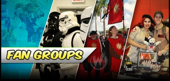 Fan Groups Invade Wizard World Philadelphia Comic Con - Browncoats and Jedi Knights and Ghostbusters, Oh, My!