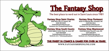 Fantasy Shop Enhancing St. Louis Geek Culture For More Than 30 Years!