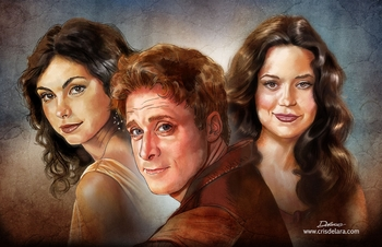 <i>Firefly/Serenity</i> Chicago Comic Con VIP Exclusive Lithograph by Cris Delara