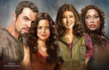 <i>Firefly/Serenity</i> Philadelphia Comic Con Wizard World VIP Exclusive Lithograph by Cris Delara
