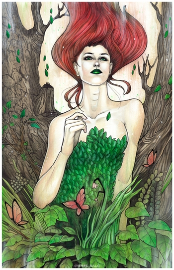 <i>Flourish</i> New Orleans Comic Con VIP Exclusive Lithograph by Chrissie Zullo