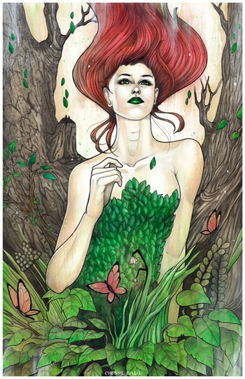 <i>Flourish</i> Portland Comic Con VIP Exclusive Lithograph by Chrissie Zullo