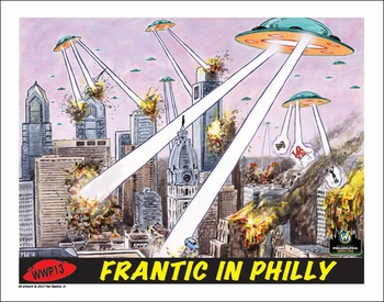 <i>Frantic in Philly</i> Philadelphia Comic Con Exclusive Lithographs by Ted Dastick, Jr.