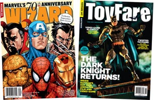 FREE COMIC CON TICKET OFFER WITH MAGAZINE SUBSCRIPTION