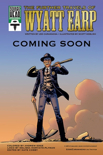<i>The Further Travels of Wyatt Earp</i> Wizard World Comic Con VIP Exclusive Lithograph by Scott Koblish (Written by Joe Caramagna)