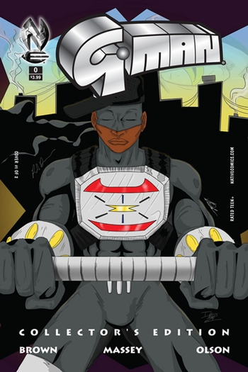 <i>G-Man</i> Atlanta Comic Con Exclusive Comic by Rod Brown of Native Comics