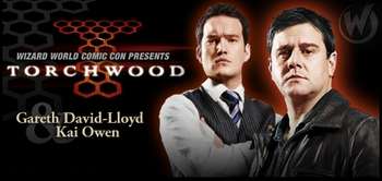 Gareth David-Lloyd & Kai Owen, <i>Ianto Jones & Rhys Williams</i>, �Torchwood,� Coming to Austin Comic Con!