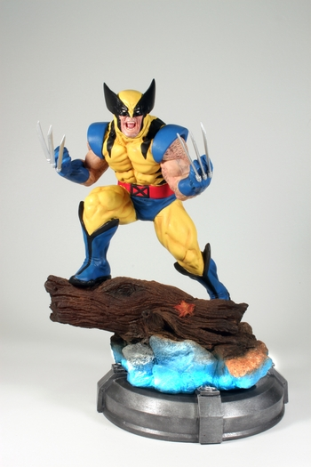 GCD EXCLUSIVE WORLD PREMIER Wolverine Statue & Star Wars Lightsaber Chopsticks by Kotobukiya @ Anaheim Comic Con