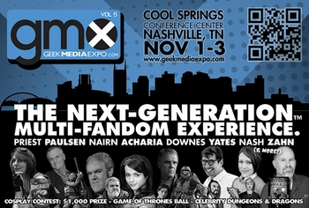 Fans Can Get A Taste Of Geek Media Expo @ Wizard World Nashville Comic Con
