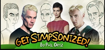 Get �Simpsonized� by 5-TIME EMMY AWARD WINNER The Simpsons Artist Phil Ortiz @ Toronto Comic Con!