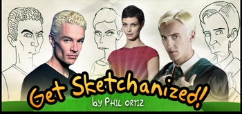 Get �Sketchanized� by 5-TIME AWARD WINNER The Simpsons Artist Phil Ortiz On the Wizard World Comic Con Tour!