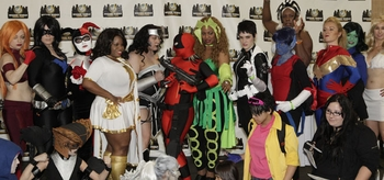 Get Your Cosplay On @ Wizard World Comic Con NYC Exprience Costume Contest Saturday Night