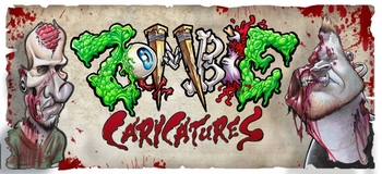Get �Zombified� by Sean Gardner and Nick Mitchell from <i>Zombie Caricatures</i> On the Wizard World Comic Con Tour!
