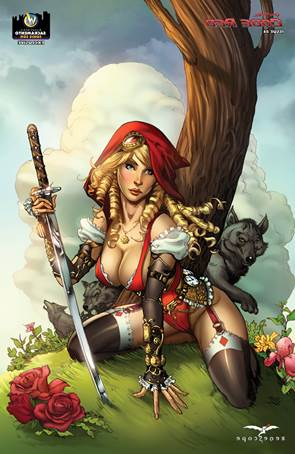 <i>GFT Code Red #4 � Cover E</i> - Zenescope Sacramento Comic Con Exclusive Cover Artwork by Michael Dooney