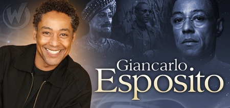 Giancarlo Esposito, <i>EMMY AWARD NOMINEE</i>, Coming to Des Moines & Sacramento!