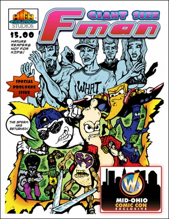 <i>Giant-Size F-Man #1</i> Mid-Ohio Comic Con Exclusive by Craig Blake