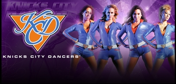 Go New York, Go New York, Go! Knicks City Dancers Keeping The Rhythm @ Big Apple Comic Con!