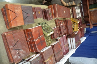 Go �Old School� With Poetic Earth Handmade Journals and Satchels
