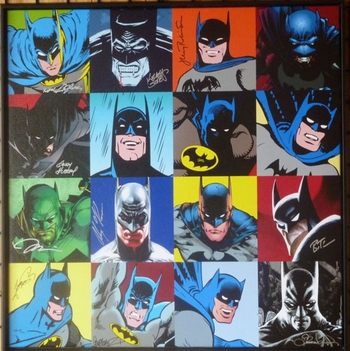 Golden Age - DiVinci & Faces of Batman By Choice Collectibles