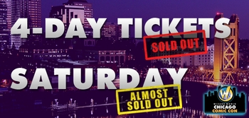 Gone In A Flash! Wizard World Chicago Comic Con Four-Day Passes August 21-22-23-24 Sell Out 2 Months Before The Show
