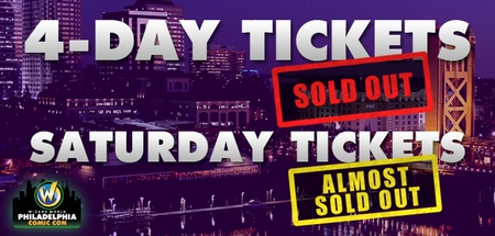 Gone In A Flash! Wizard World Philadelphia Comic Con Four-Day Passes June 19-20-21-22 Sell Out Weeks Before The Show
