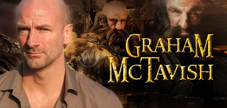 Graham McTavish, <i>Dwalin</i>, THE HOBBIT, Coming to Cleveland Comic Con!