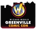 Greenville Comic Con 2015 Wizard World Convention 3-Day Weekend Ticket May 28-29-30, 2015
