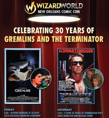 Movie Nights: Watch Screenings Of �Gremlins,� �Terminator� With Intros By The Stars @ New Orleans Comic Con