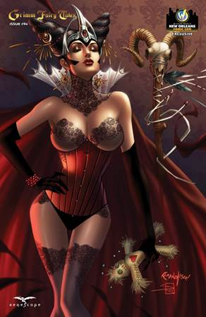 <i>Grimm Fairy Tales #94 � Cover D</i> New Orleans Comic Con Exclusive Zenescope Variant Cover by Franchesco