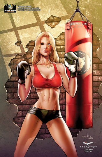 <b><i>Grimm Fairy Tales Code Red #5</i> Wizard World Atlanta Exclusive Comic by Pat Shand, Jason Metcalf, and Ivan Nunes</b>