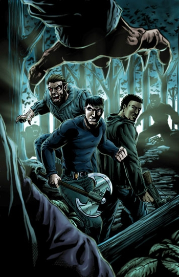 <i>Grimm</i> Portland Comic Con Exclusive Print by Ben �1314� Hansen