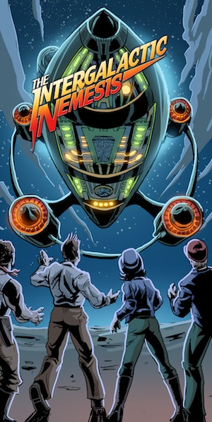 Harrah�s New Orleans Welcomes The Intergalactic Nemesis Live-Action Graphic Novel Show To The Big Easy!