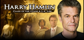Harry Hamlin, <i>Perseus</i>, CLASH OF THE TITANS, Coming to Anaheim Comic Con!