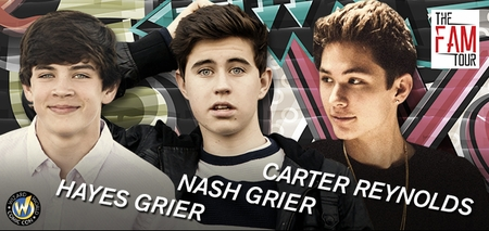 Nash Grier, Hayes Grier & Carter Reynolds Coming to Nashville Comic Con 2014!