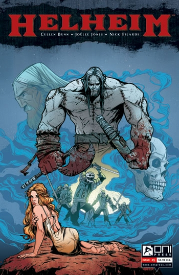 <i>HELHEIM</i> St. Louis Comic Con VIP Exclusive Lithograph by Cullen Bunn, Joelle Jones & Nick Filardi