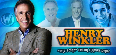 Henry Winkler, <i>The Fonz</i>, from �Happy Days,� Joins the Wizard World Comic Con Tour!