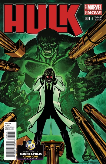 <i>Hulk #1</i> Minneapolis Comic Con Exclusive Variant Cover by Mike Grell