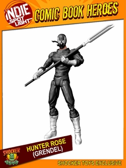 "Hunter Rose 6"" (Grendel) Wizard World Tour Exclusive Action Figure"