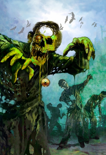 <b>Hurricane  Sandra Fundraiser  Exclusive!</b> <br><i>Zombies, Zombies, Zombies!</i> New Orleans Comic Con �Sandy Relief� Exclusive Lithograph Signed by Arthur Suydam