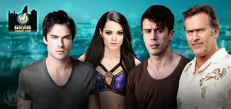 Ian Somerhalder, Bruce Campbell, Billy Boyd, WWE� Diva Paige�, Toby Kebbell Among Top Celebrities Scheduled To Attend Wizard World Comic Con San Jose, September 4-6