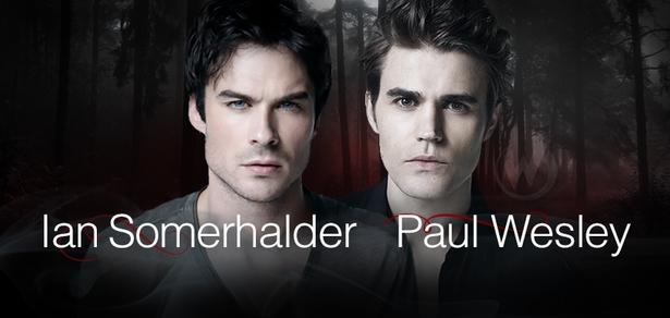 Ian Somerhalder & Paul Wesley, <i>Damon & Stefan Salvatore</i>, �The Vampire Diaries� Coming to New Orleans Comic Con!