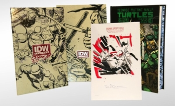 IDW Limited Showcasing New Exclusive TMNT Comic @ Austin Comic Con