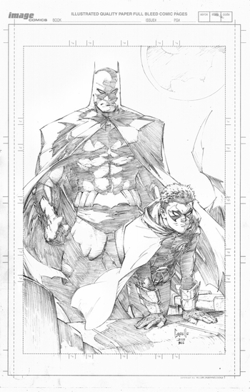 <i>Inaccurate Batman</i> by Greg Capullo