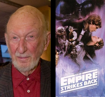 Irvin Kershner cannot attend Anaheim Comic Con due to cancer