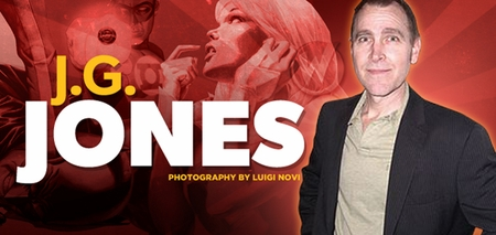 J.G. Jones, <i>Before Watchmen: Comedian</i>, Joins the Wizard World Comic Con Tour!