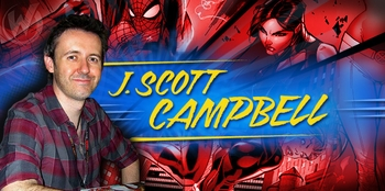 J. Scott Campbell, <i>Avengers Vs. X-Men</i>, Coming to Chicago Comic Con!